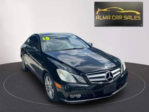 2010 Mercedes-Benz E-Class for sale at Alma Car Sales in Miami FL