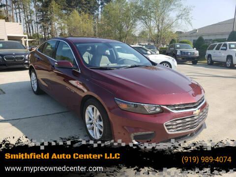 2016 Chevrolet Malibu for sale at Smithfield Auto Center LLC in Smithfield NC