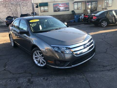 2012 Ford Fusion for sale at Some Auto Sales in Hammond IN