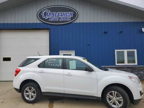 2015 Chevrolet Equinox for sale at Maverick Automotive in Arlington MN