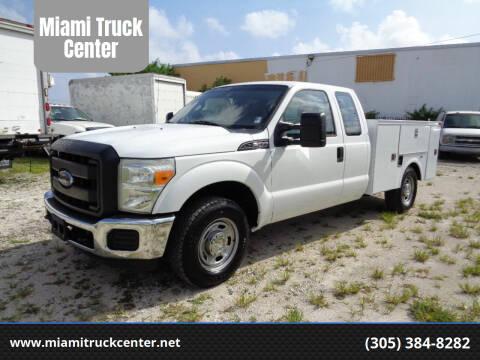 2012 Ford F-250 Super Duty for sale at Miami Truck Center in Hialeah FL