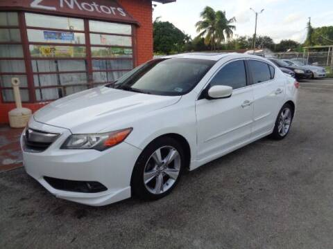 2013 Acura ILX for sale at Z MOTORS INC in Hollywood FL