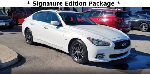 2015 Infiniti Q50 for sale at Coast to Coast Imports in Fishers IN