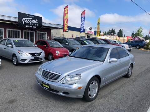2002 Mercedes-Benz S-Class for sale at Tacoma Autos LLC in Tacoma WA