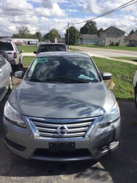 2014 Nissan Sentra for sale at Stewart's Motor Sales in Byesville OH