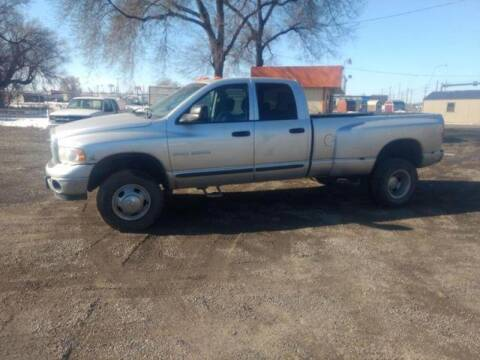 2004 Dodge Ram Pickup 3500 for sale at Acme Auto Sales & Services LLC in Billings MT