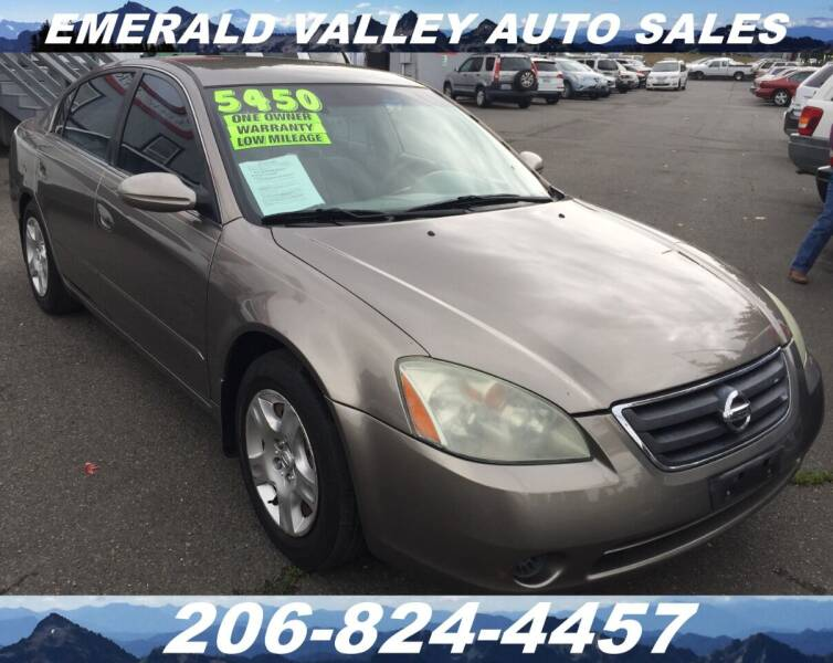 2003 Nissan Altima for sale at Emerald Valley Auto Sales in Des Moines WA