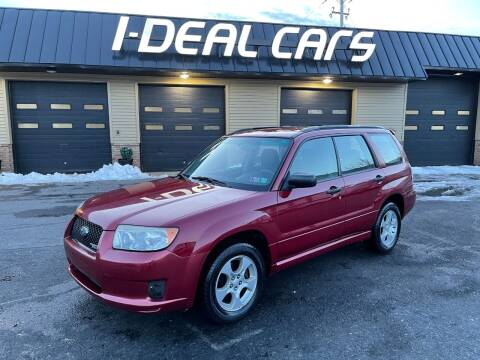 2007 Subaru Forester for sale at I-Deal Cars in Harrisburg PA