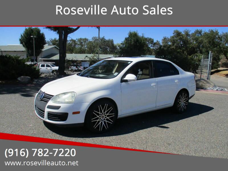 2008 Volkswagen Jetta for sale at Roseville Auto Sales in Roseville CA