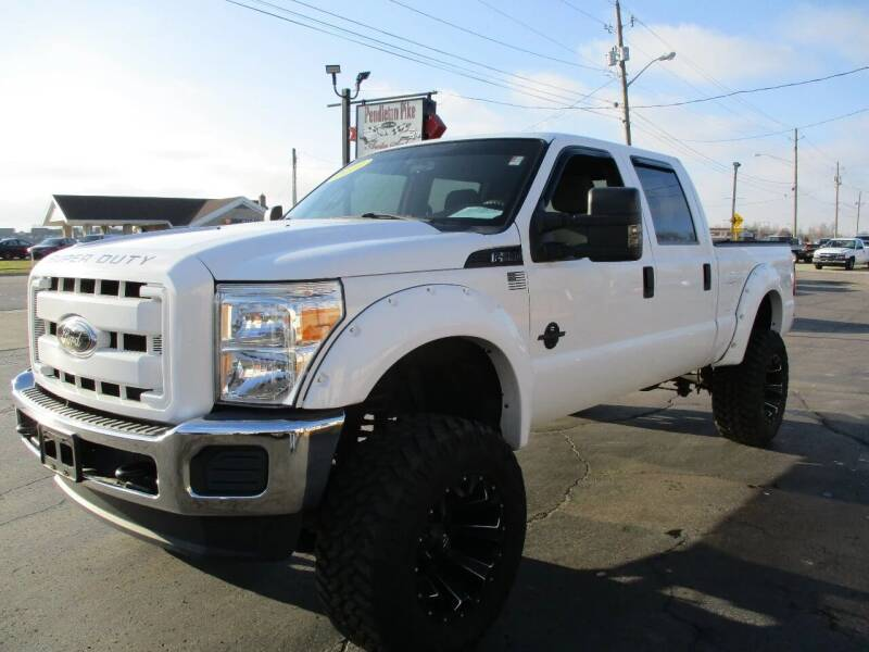 2012 Ford F-250 Super Duty for sale at PENDLETON PIKE AUTO SALES in Ingalls IN