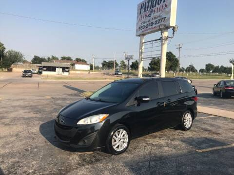 2014 Mazda MAZDA5 for sale at Patriot Auto Sales in Lawton OK