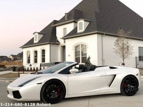 2007 Lamborghini Gallardo for sale at Mr. Old Car in Dallas TX