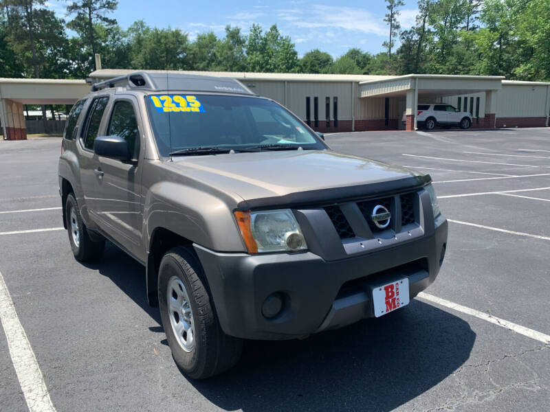 2007 Nissan Xterra for sale at B & M Car Co in Conroe TX
