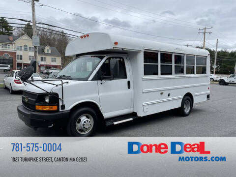 2013 Chevrolet Express Cutaway for sale at DONE DEAL MOTORS in Canton MA