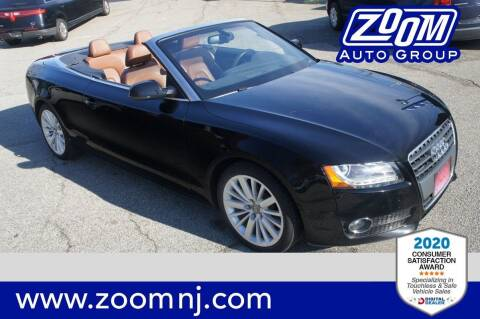 2011 Audi A5 for sale at Zoom Auto Group in Parsippany NJ