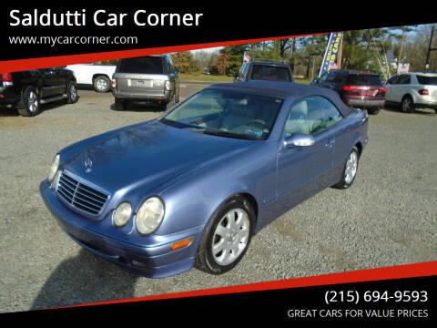 2001 Mercedes-Benz CLK for sale at Saldutti Car Corner in Gilbertsville PA