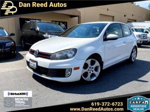 2010 Volkswagen GTI for sale at Dan Reed Autos in Escondido CA
