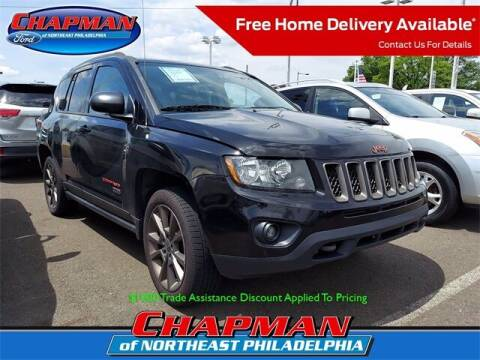 2016 Jeep Compass for sale at CHAPMAN FORD NORTHEAST PHILADELPHIA in Philadelphia PA