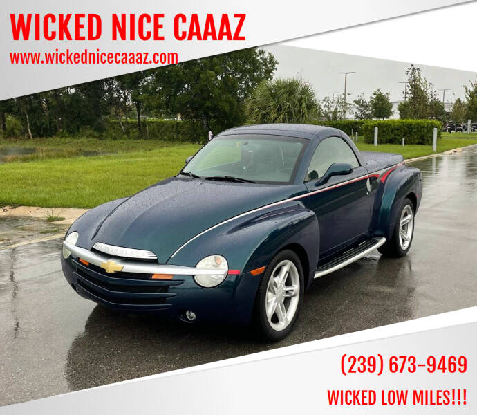 2005 Chevrolet SSR for sale at WICKED NICE CAAAZ in Cape Coral FL