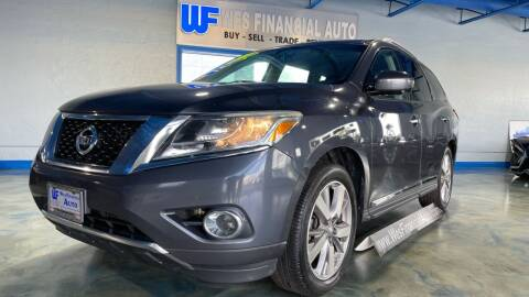 2014 Nissan Pathfinder for sale at Wes Financial Auto in Dearborn Heights MI