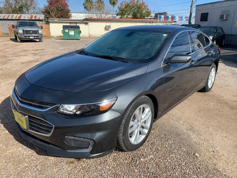 2016 Chevrolet Malibu for sale at Rock Motors LLC in Victoria TX