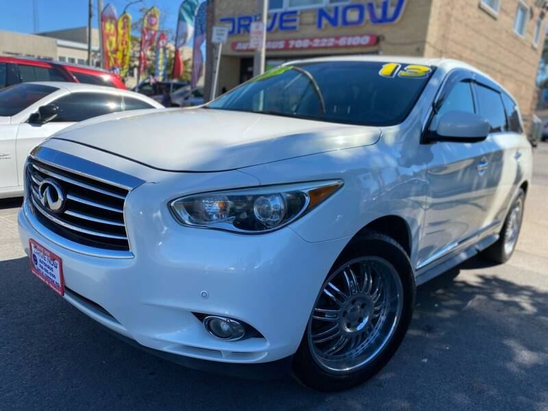 2013 Infiniti JX35 for sale at Drive Now Autohaus in Cicero IL
