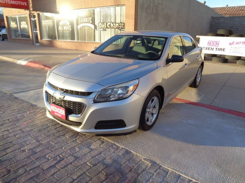 2014 Chevrolet Malibu for sale at Rediger Automotive in Milford NE