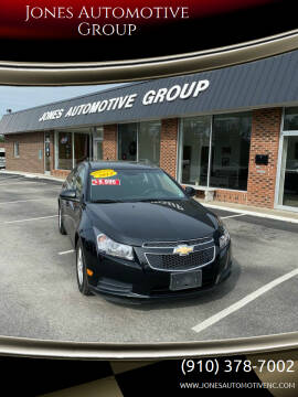 2015 Chevrolet Cruze for sale at Jones Automotive Group in Jacksonville NC
