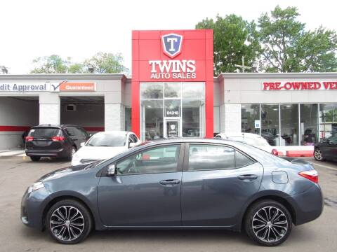 2015 Toyota Corolla for sale at Twins Auto Sales Inc - Detroit in Detroit MI