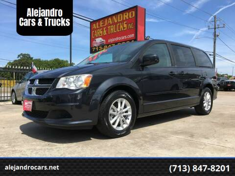 2013 Dodge Grand Caravan for sale at Alejandro Cars & Trucks in Houston TX
