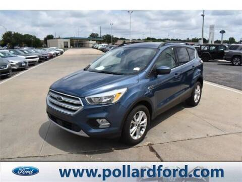 2018 Ford Escape for sale at South Plains Autoplex by RANDY BUCHANAN in Lubbock TX