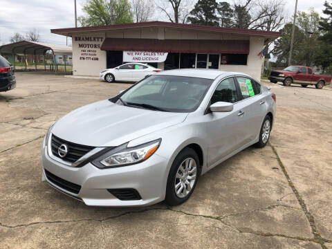 2018 Nissan Altima for sale at BRAMLETT MOTORS in Hope AR