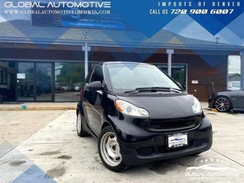 2011 Smart fortwo for sale at Global Automotive Imports of Denver in Denver CO