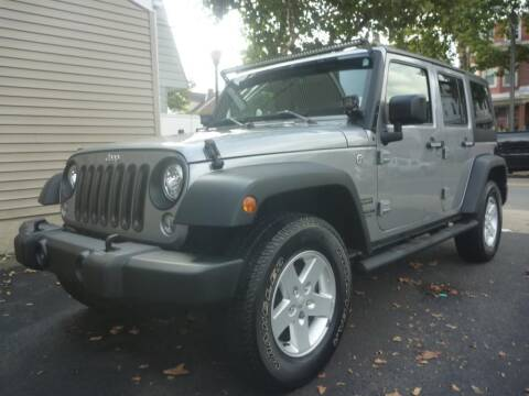 2017 Jeep Wrangler Unlimited for sale at Pinto Automotive Group in Trenton NJ