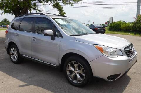 2015 Subaru Forester for sale at USA AUTO CENTER in Austin TX