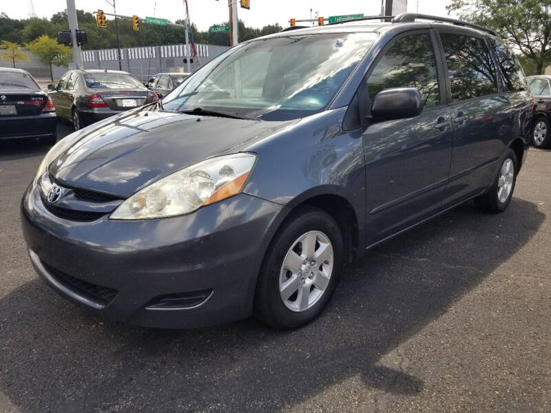 2010 Toyota Sienna for sale at Cedar Auto Group LLC in Akron OH