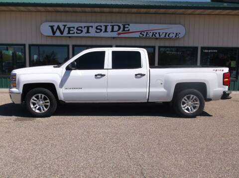 2014 Chevrolet Silverado 1500 for sale at West Side Service in Auburndale WI