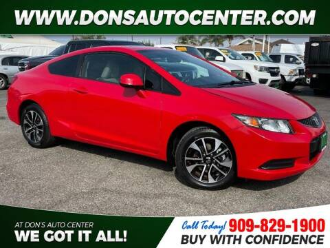 2013 Honda Civic for sale at Dons Auto Center in Fontana CA