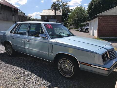 1985 Dodge 600 for sale at Waltz Sales LLC in Gap PA
