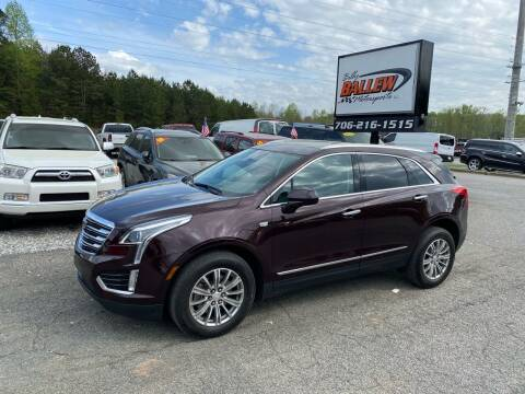 2017 Cadillac XT5 for sale at Billy Ballew Motorsports in Dawsonville GA