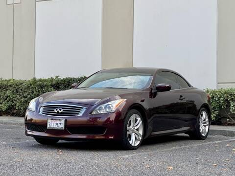 2010 Infiniti G37 Convertible for sale at Carfornia in San Jose CA