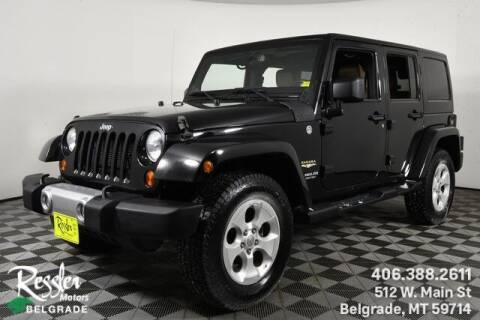 2013 Jeep Wrangler Unlimited for sale at Danhof Motors in Manhattan MT