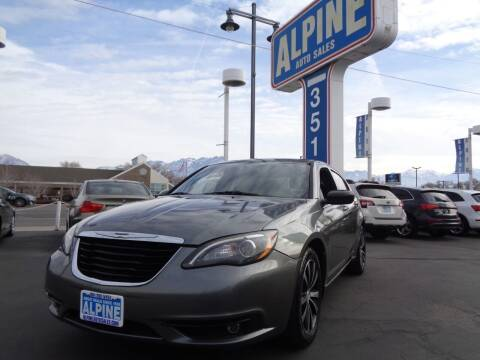 2011 Chrysler 200 for sale at Alpine Auto Sales in Salt Lake City UT