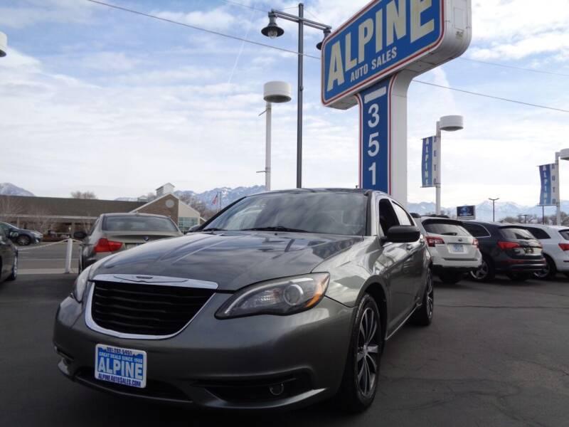 2011 Chrysler 200 for sale at Alpine Auto Sales in Salt Lake City UT