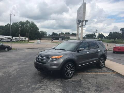 2013 Ford Explorer for sale at Patriot Auto Sales in Lawton OK