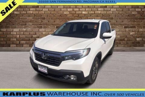 2018 Honda Ridgeline for sale at Karplus Warehouse in Pacoima CA