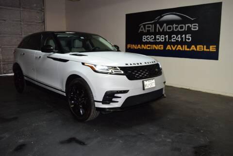 2019 Land Rover Range Rover Velar for sale at ARI Motors in Houston TX