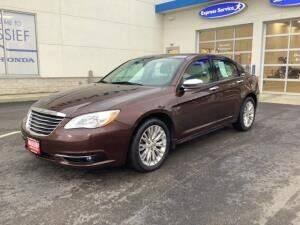 2012 Chrysler 200 for sale at Cj king of car loans/JJ's Best Auto Sales in Troy MI