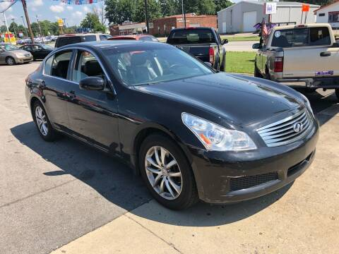 2008 Infiniti G35 for sale at Wise Investments Auto Sales in Sellersburg IN