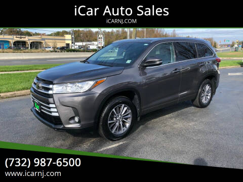 2018 Toyota Highlander for sale at iCar Auto Sales in Howell NJ